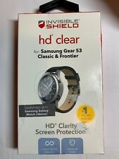 ZAGG InvisibleShield HD Clear Screen Protector Samsung Gear S3 Classic Frontier