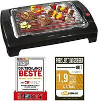 Clatronic Tischgrill Elektrogrill Elektro Tisch BBQ Barbecue Grill 2000W