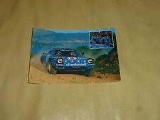 Carte Card Cartolina * Lancia Stratos Kway Chardonnet * Darniche * 1977 Rallye