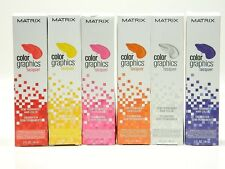 MATRIX COLOR GRAPHICS  LACQUER SEMI PERMANENT HAIR COLOR 3 OZ.9 (choose color)