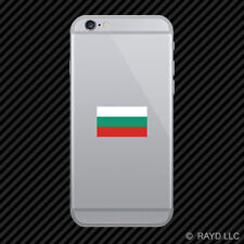 Bulgarian Flag Cell Phone Sticker Mobile Bulgaria BGR BG