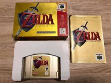 ZELDA Ocarina of Time COLLECTOR'S EDITION in GOLD * AUSTRALIAN PAL Version
