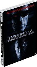TERMINATOR 3 (Arnold Schwarzenegger) DVD, Steelbook NEU+OVP