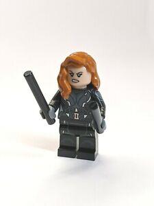 NEW Black Widow LEGO Minifigure 40418 76166 76153 Marvel Heroes Avengers NEW