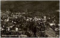 Badenweiler im Schwarzwald alte Ansichtskarte 1963 Gesamtansicht Luftaufnahme