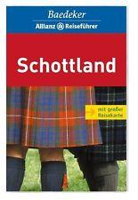 Baedeker Allianz Reiseführer Schottland mit Reisekarte, um 2009