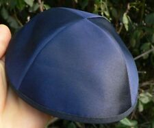 New Blue Satin KIPPAH Yarmulke Yarmulka Kippa Kipa Yamaka Jewish Hat, Judaica