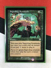 Saproling Symbiosis Invasion PLD Green Rare MAGIC THE GATHERING CARD