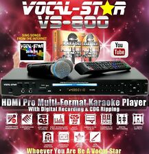 Vocal-Star VS800 Karaoke Machine Set