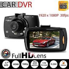 """Dash Cam 1080P caméra voiture DVR véhicule enregistreur vidéo caméscope 2.4'"""""""
