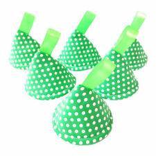 Green Spots Dots Pee Pee Teepee x 6 / Wee Wigwam Baby Shower / Newborn Boy Gift
