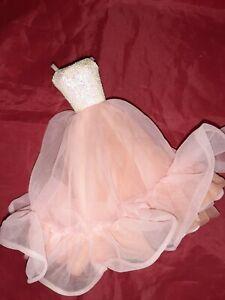 Barbie Pfirsichblüten Peaches and Cream Kleid Mattel 80iger Vintage