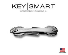 KeySmart 2.0 Titanium Extended 88mm Compact Key Holder Original 2-8 Keys Size