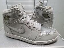 Nike Air Jordan 1 Retro HI SILVER 2009 25th Anniversary Sz 11.5 DS 396009 001