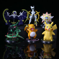 NEW 6pcs Pokemon Monster Pikachu PVC Action Figure Collectible Model Toy Gift