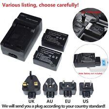 DMW-BMB9 Battery or charger for Panasonic Lumix DC-FZ80, DMC-FZ40K, FZ45K, FZ47K