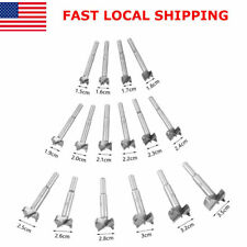 16pcs Forstner Drill Bit Set Woodworking Hole Saw Tool Cemented carbide Cutting