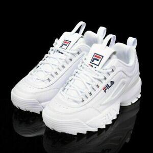FILA Disruptor II Sneakers Casual Athletic Running Walking Sports Shoes UK 3-9