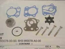 YAMAHA OUTBOARD WATER PUMP KIT 18-34281 FITS 6H3-W0078-00 A0 SEE LIST MOTORS