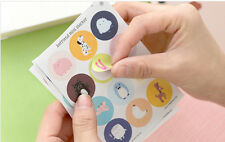 3 sheet stationery calendar DIARY planner  Decorative befriend mini  stickers