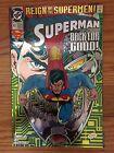 DC Comics SUPERMAN #82 Chromium Cover VF/NM 1993 Reign of the Supermen
