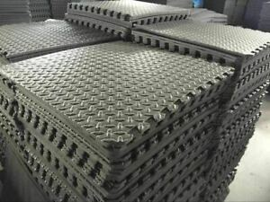 Interlocking Garage Mat Workshop Utility Office Play mat Soft Foam Floor Matting