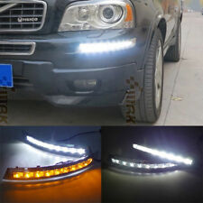 DRL LED DAYTIME RUNNING LIGHT FOG LAMP FOR Volvo XC90 2007-2013 WITH TURN SINAL