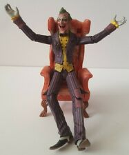 """DC Direct """"sickened"""" variant JOKER NYCC Exclusive Arkham City Figure with CHAIR"""