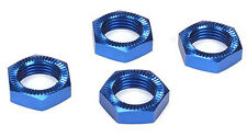 Losi LOSB3227 Wheel Nuts, Blue Anodized (4) 5IVE-T