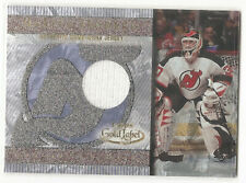 Martin Brodeur - Topps Gold Label 2001 - jersey card