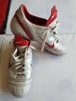 UK10 Nike Mercurial Pace Vapor II SG Football Boots  Retro Silver/Red  EU45