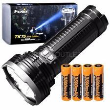 Fenix TK75 2018 5100 Lumens Flashlight w 4x 3500mAh 18650 Rechargeable Batteries