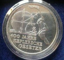 """10 Euro  Silber Gedenkmünze """"100 Jahre Keplersche Gesetzte"""" BRD 2009"""