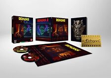 Demons 1 2 Limited Edition Region B Blu-ray Booklet Poster