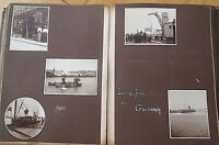 RARE! 1890's VICTORIAN PHOTOGRAPH ALBUM OF GUERNSEY, JERSEY, SARK - ALL TITLED