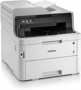 Brother MFC-L3750CDW Stampante Multifunzione a Colori - Bianco