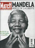 Nelson Mandela Paris Match French Magazine Johnny Hallyday Eleonora Abbagnato