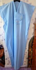 "MENS TRADITIONAL  DJELLABA / ROBE ~ LIGHT BLUE ~ 60"" WIDE x 60"" LONG"