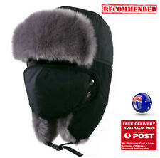 Man Women Balaclava Warm winter Hiking Ski Bike Ushanka Mask Fur Hat Cap hood