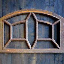 Eisenfenster mit Stichbogen, Stallfenster, Fenster aus Eisen, künstlich alt, NEU