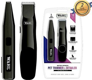 Wahl Professional Animal Pet Dog Cat QUIET Hair Clippers Detail Trimmer Touch Up