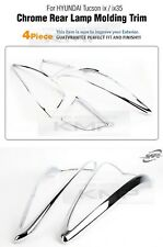 Taillight Lamp Chrome Garnish Molding K-594 For HYUNDAI 2010-2014 TUCSON ix35