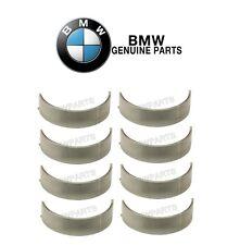 For BMW M3 E46 08-13 Set of 8 Upper Blue 53.00 Standard Rod Bearings KIT Genuine