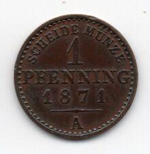 Germany - Preussen / Prussia - 1 Pfennig 1871 A