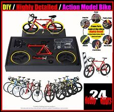 New DIY Bike Bicycle Action Model Figure Dashboard Desk Office DECOR ACCESSORIES
