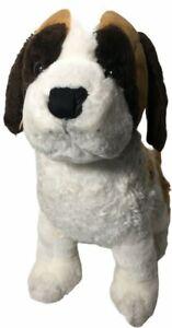 "16"" Kellytoy Brown White Saint Bernard Dog Plush Stuffed Animal Toy Puppy"