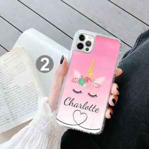 Personalised Unicorn Phone Case Cover For Apple Samsung iPhone GEL 208-2