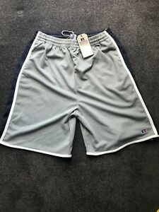RUSSELL ATHLETIC COLLEGE BASKETBALL SHORTS SIZE XL MENS