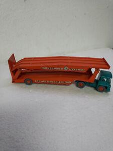 matchbox Lesney king size K-8 daf car transporter [hard to find green one]