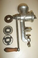 ANTIQUE KEYSTONE 20 CAST IRON MEAT GRINDER Chopper C.I.Co Boyertown, PA 3 Plates